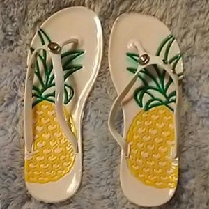 Shoes - Adorable Pineapple Flip Flops